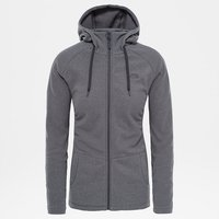 Mezzaluna Full Zip Hoodie Women Graphite Grey Stripe L 2018 Kletterjacken