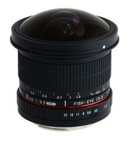 8mm f/3.5 Asph IF MC Fisheye CSII DH